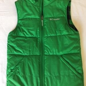 Columbia Boy's Reversible Quilted Vest Size L